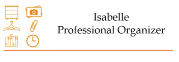 Isabelle – Professional organizer